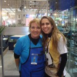 Com Karen Marins, do Programa Sabor de Vida.