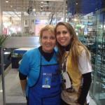 Com Karen Marins, do Programa Sabor de Vida.
